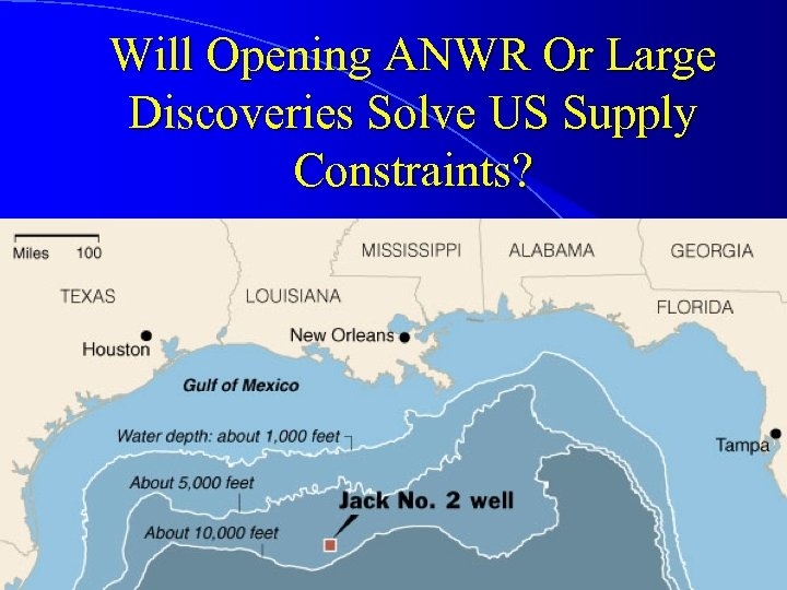 Will Opening ANWR Or Large Discoveries Solve US Supply Constraints?