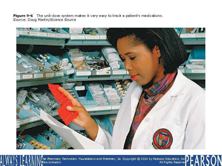 Figure 9 -6 The unit-dose system makes it very easy to track a patient's