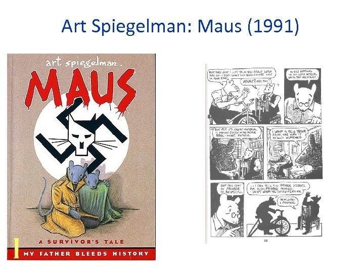 Art Spiegelman: Maus (1991)