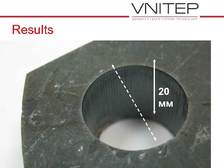 Results 20 мм