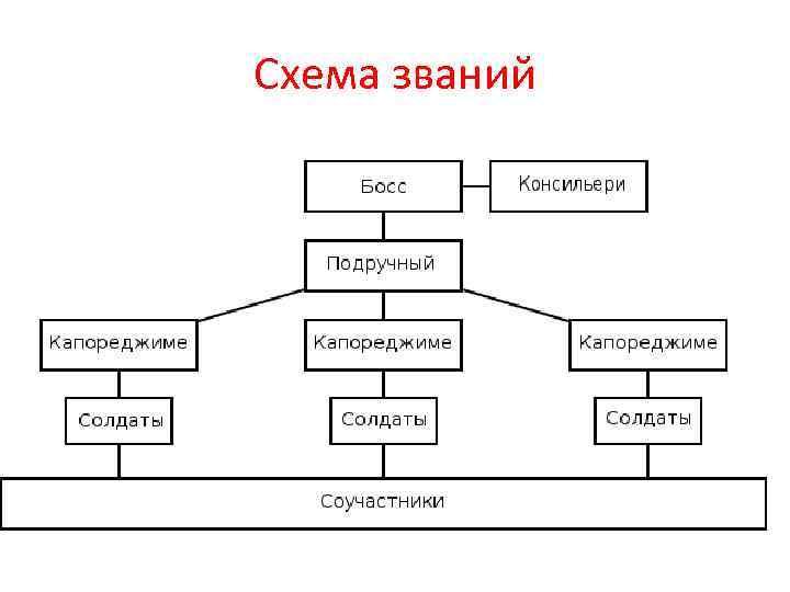Схема званий
