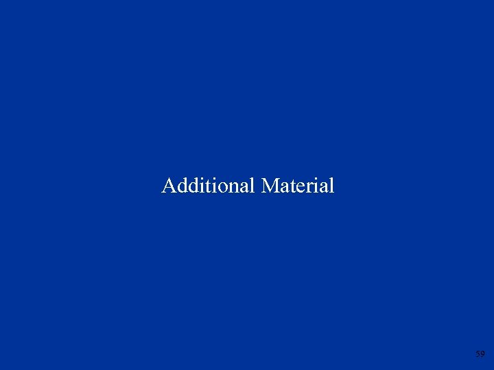 Additional Material 59