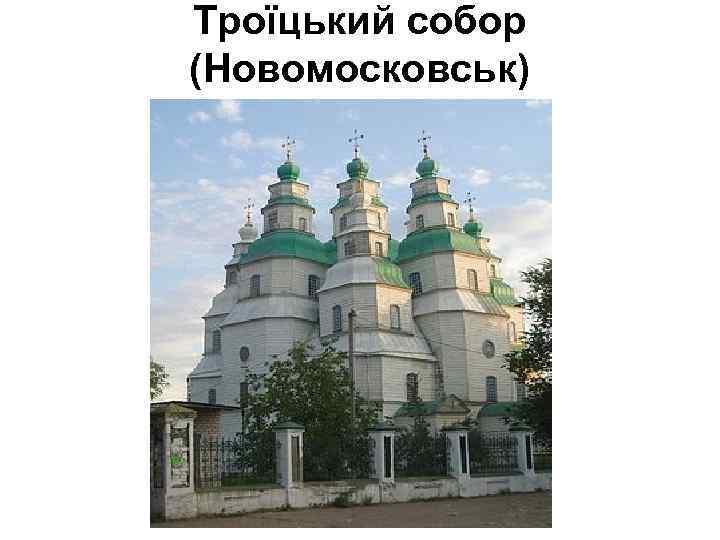 Троїцький собор (Новомосковськ)