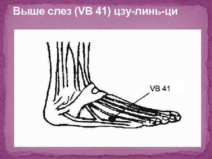 Выше слез (VB 41) цзу-линь-ци
