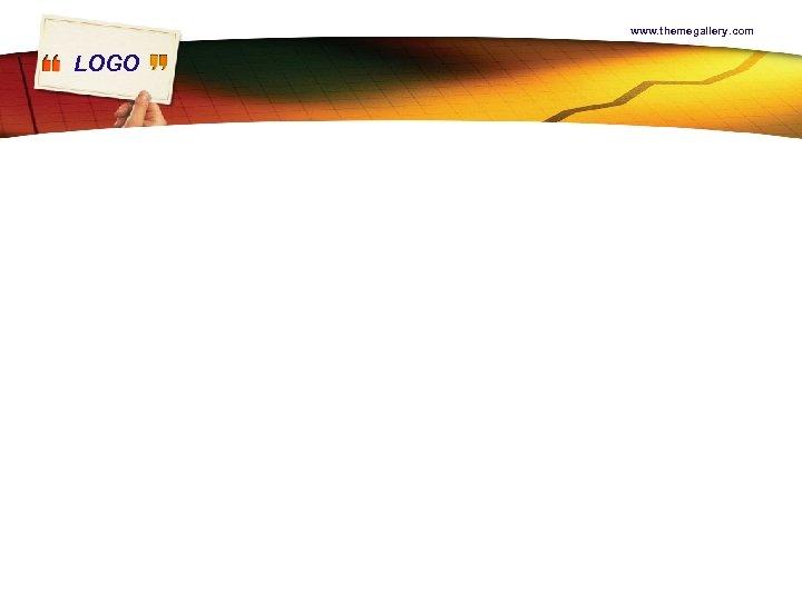 www. themegallery. com LOGO