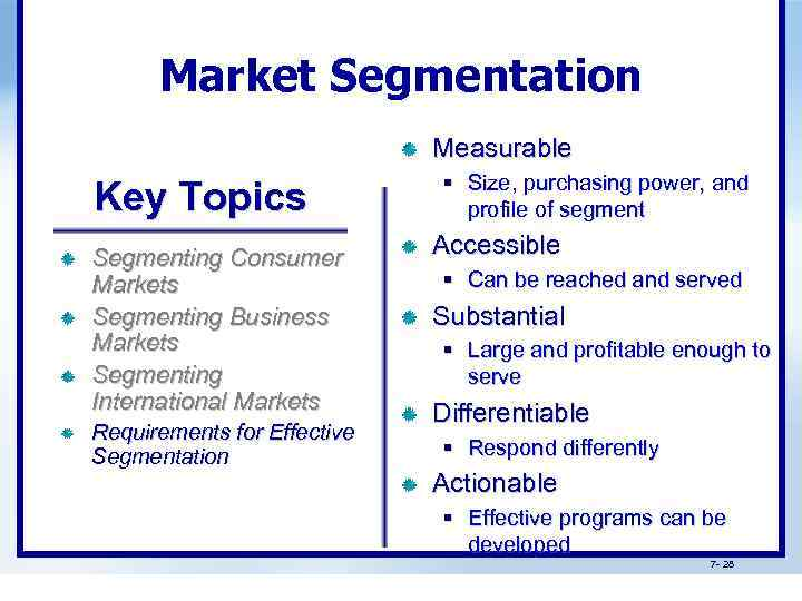 supermarket and international segment essay Market segmentation for coffee shops this process involves subdivision of the market depending on the behavior and characteristics of the buyers (mullins & walker, 2008.
