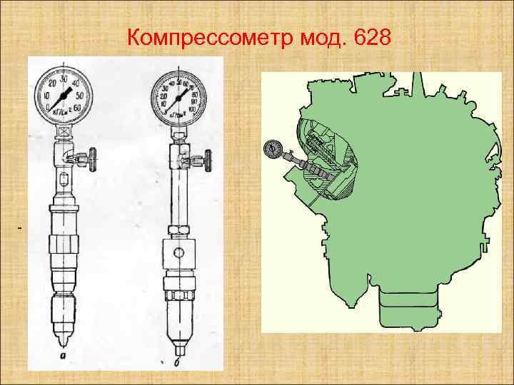 Компрессометр мод. 628 -