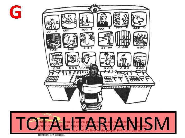 G TOTALITARIANISM