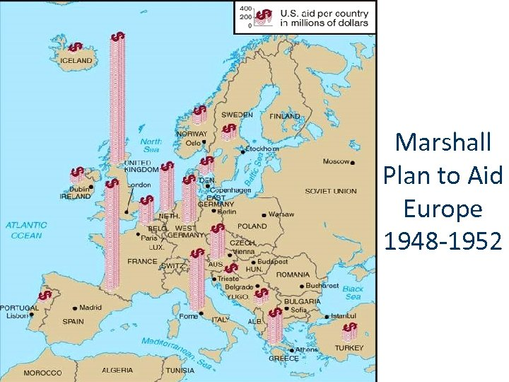 Marshall Plan to Aid Europe 1948 -1952