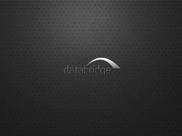 presents www. databridge. it – oneway@databridge. it telefono 02 6111331
