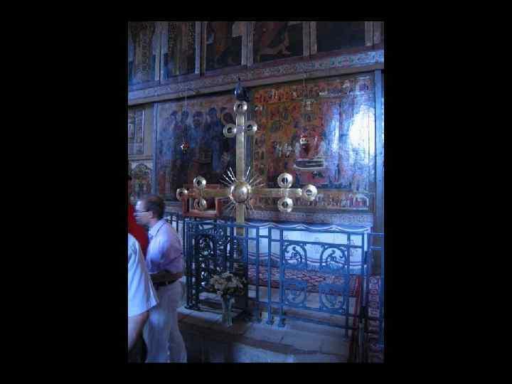 Этот крест был вывезен в Испанию во время второй мировой войны и недавно возвращён