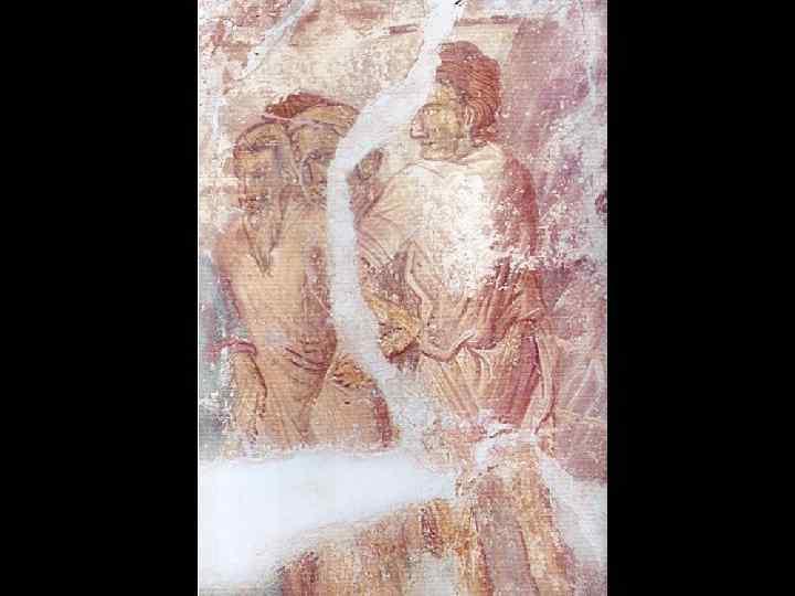 Группа иудеев. «Воскрешение Лазаря» . Южный склон западного свода