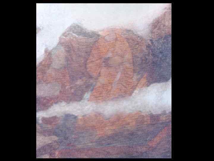 Преполовение. Роспись северного склона восточного свода.