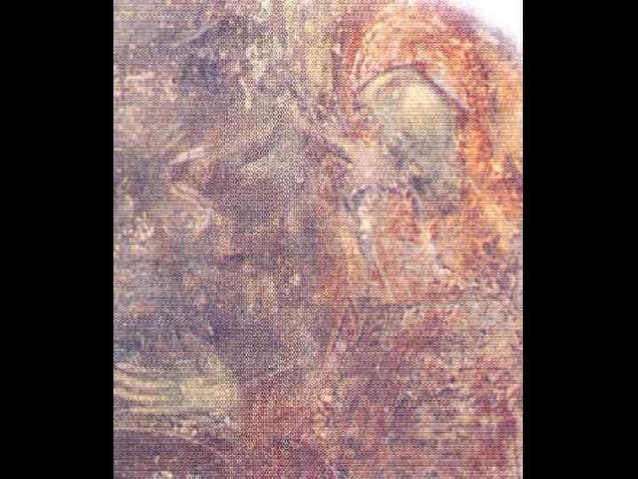 Христос и самарянка. Роспись южного склона восточного свода.