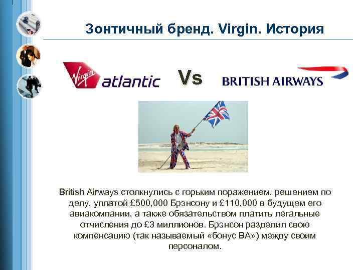 Зонтичный бренд. Virgin. История Vs British Airways столкнулись с горьким поражением, решением по делу,