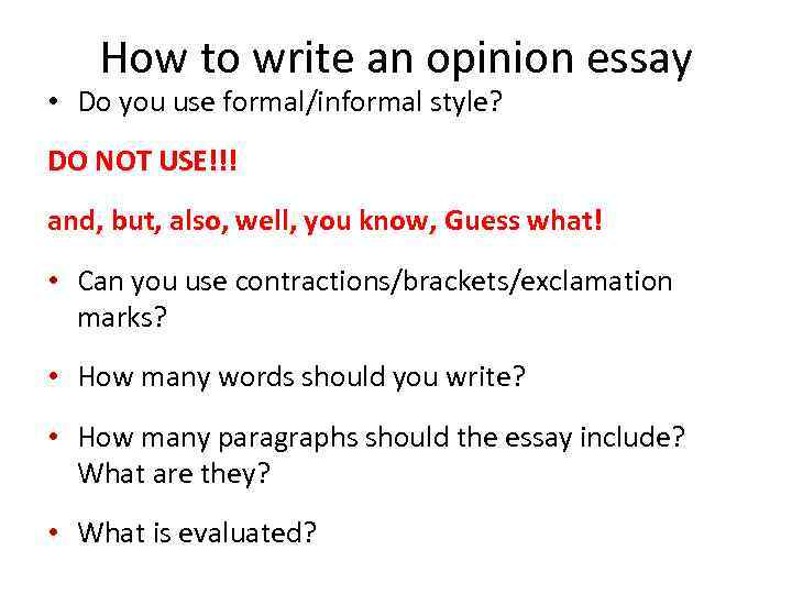 how do you write essay How to write an essay- brief essays and use the principles to expand to longer essays/ even a thesis you might also wish to check the video on interview.