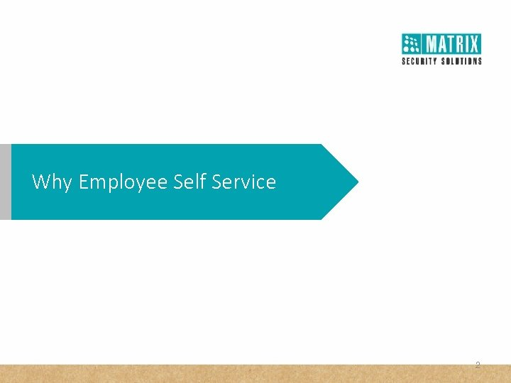 Why Employee Self Service 2