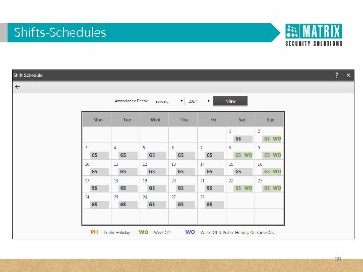 Shifts-Schedules 39