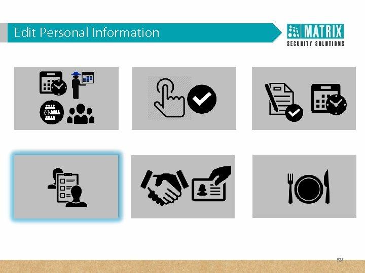 Edit Personal Information 59