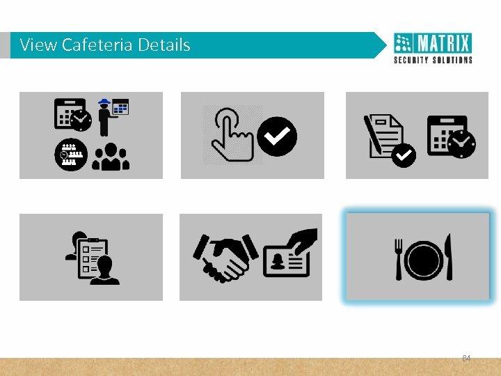 View Cafeteria Details 64