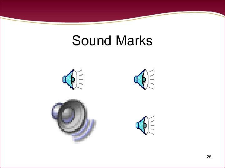 Sound Marks 25