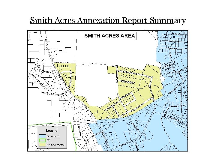 Smith Acres Annexation Report Summary