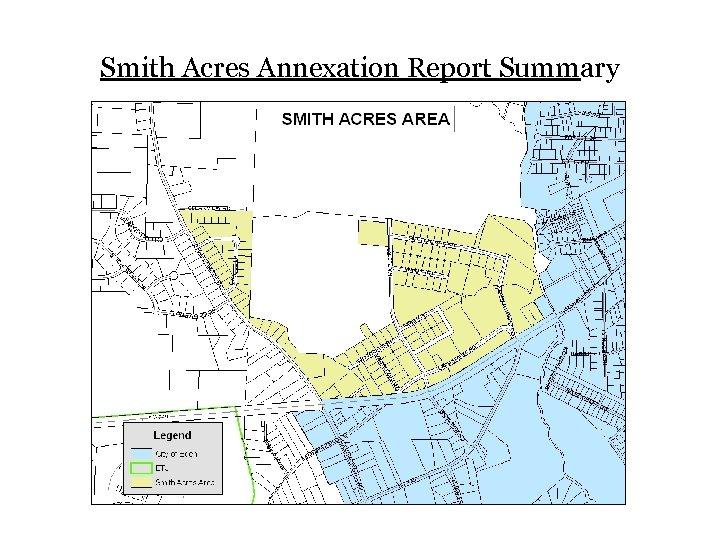 Smith Acres Annexation Report Summary