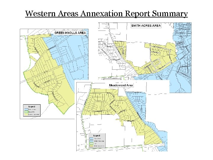 Western Areas Annexation Report Summary