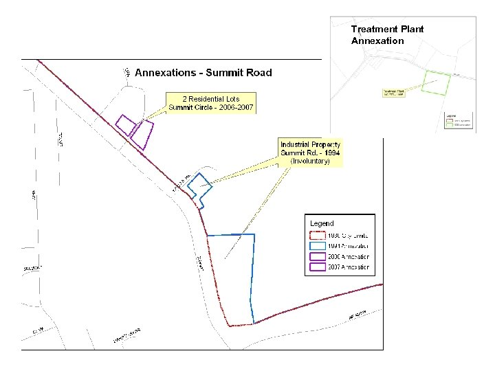 Treatment Plant Annexation