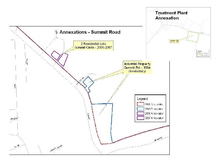 Treatment Plant Annexation