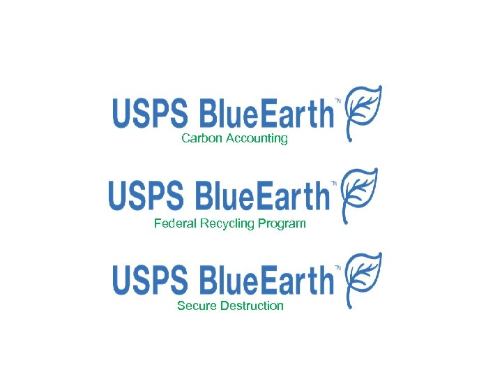 Carbon Accounting Federal Recycling Program Secure Destruction