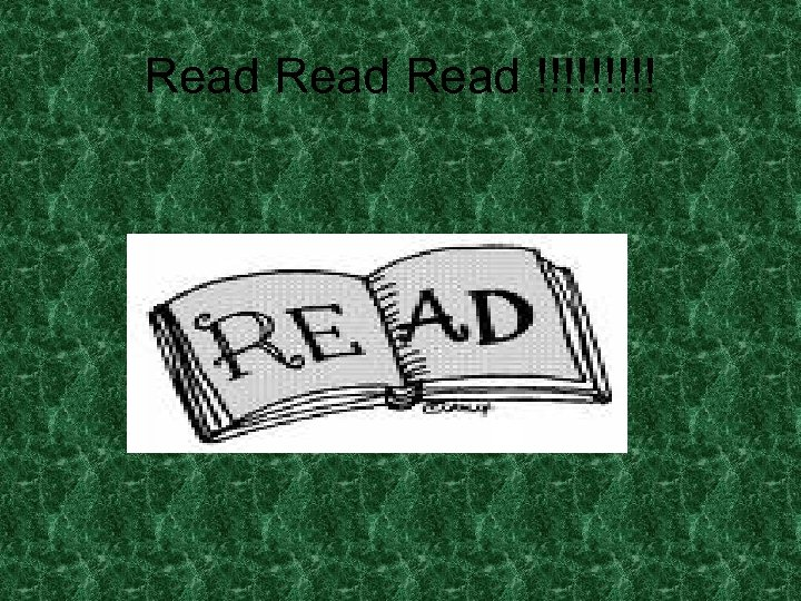 Read !!!!!