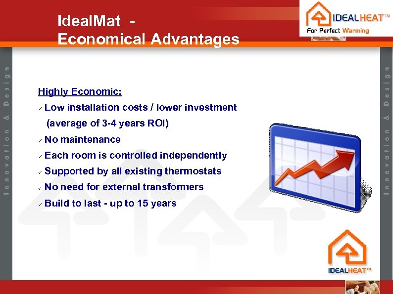 Ideal. Mat Economical Advantages Highly Economic: ü Low installation costs / lower investment (average