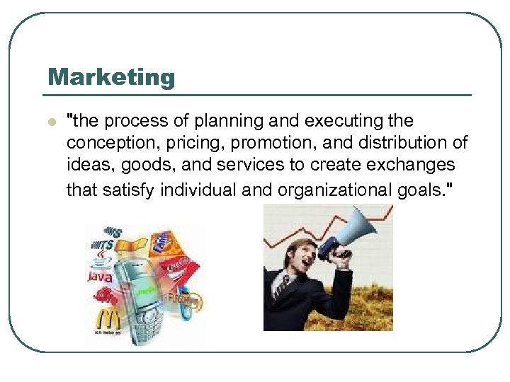 Marketing l