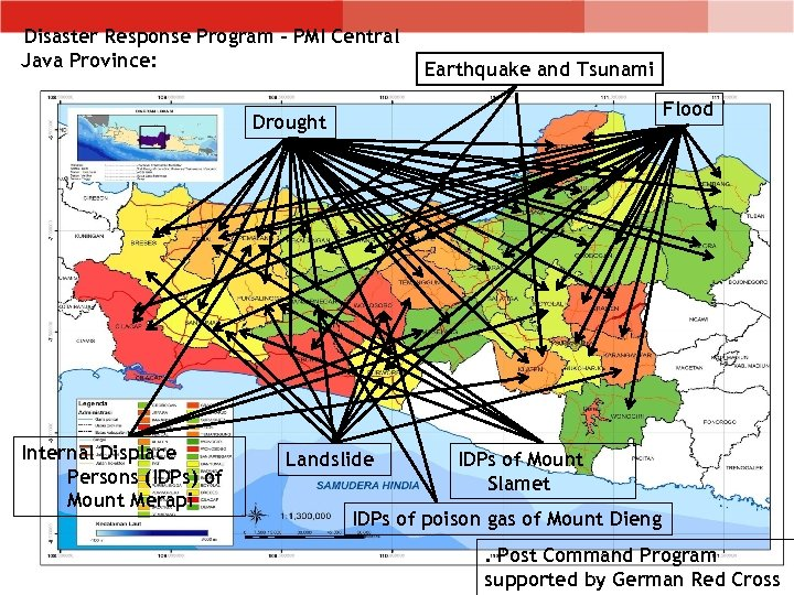 Disaster Response Program – PMI Central Java Province: Earthquake and Tsunami Flood Drought Internal