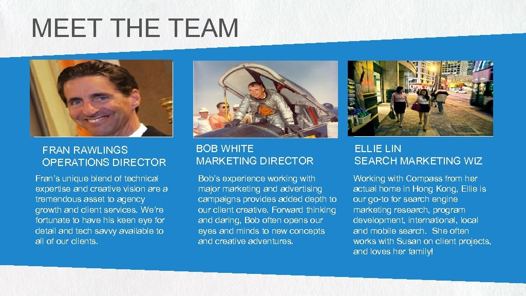 MEET THE TEAM PHOTO (256 W X 132 H PX) FRAN RAWLINGS OPERATIONS DIRECTOR