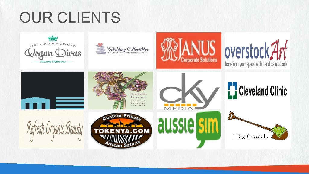 OUR CLIENTS LOGO LOGO LOGO