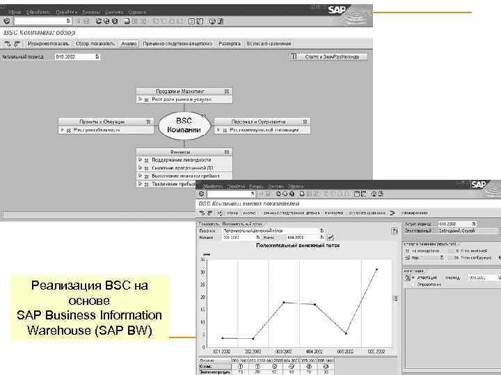 Реализация BSC на основе SAP Business Information Warehouse (SAP BW) 15