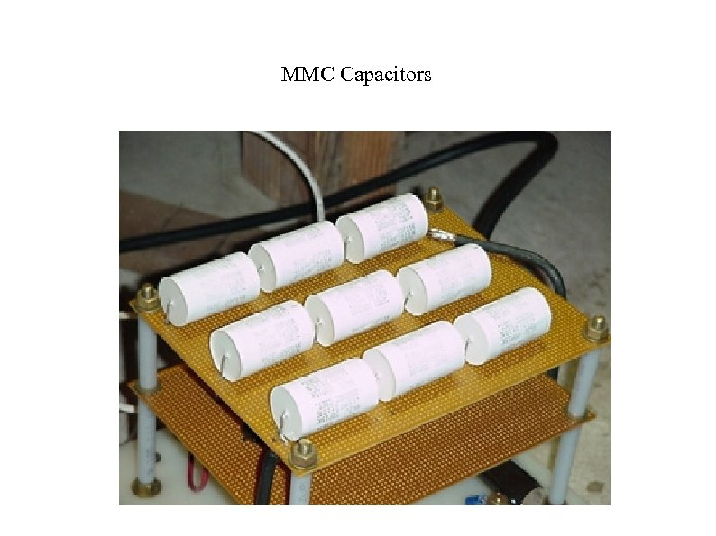 MMC Capacitors