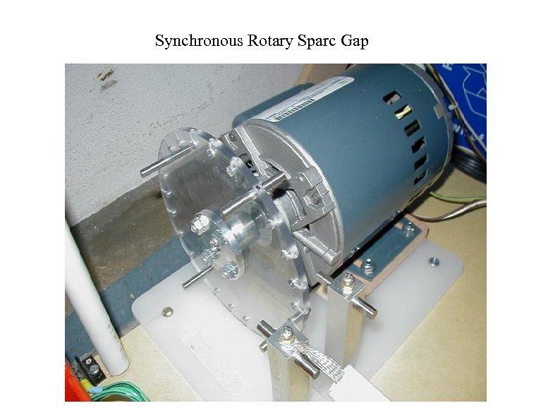Synchronous Rotary Sparc Gap