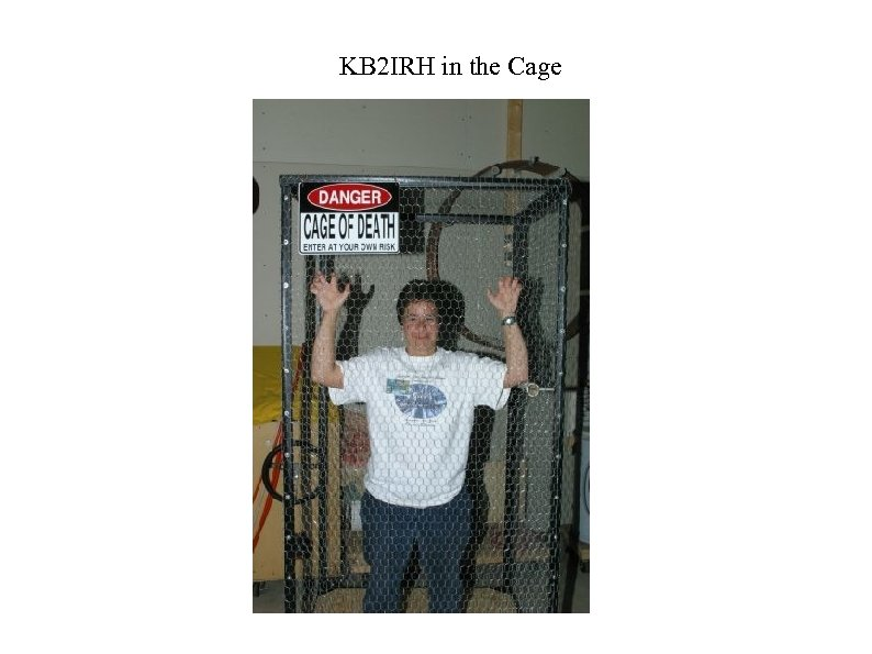 KB 2 IRH in the Cage
