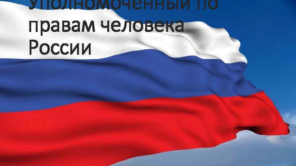Уполномоченный по правам человека России