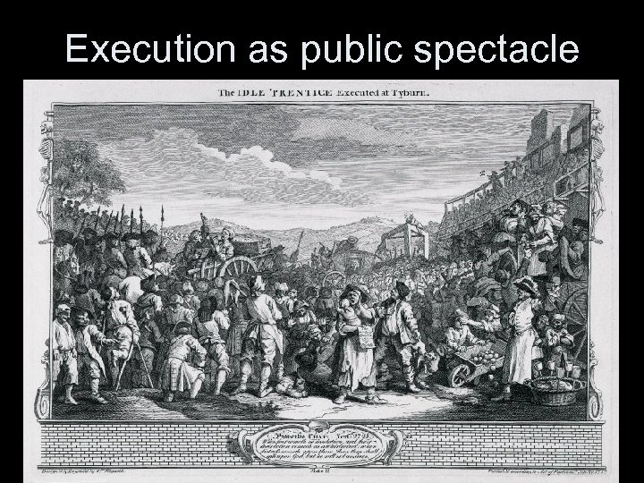 Execution as public spectacle