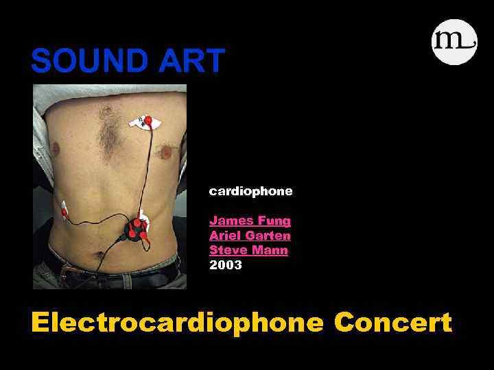 SOUND ART cardiophone James Fung Ariel Garten Steve Mann 2003 Electrocardiophone Concert