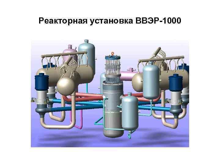 Реакторная установка ВВЭР-1000