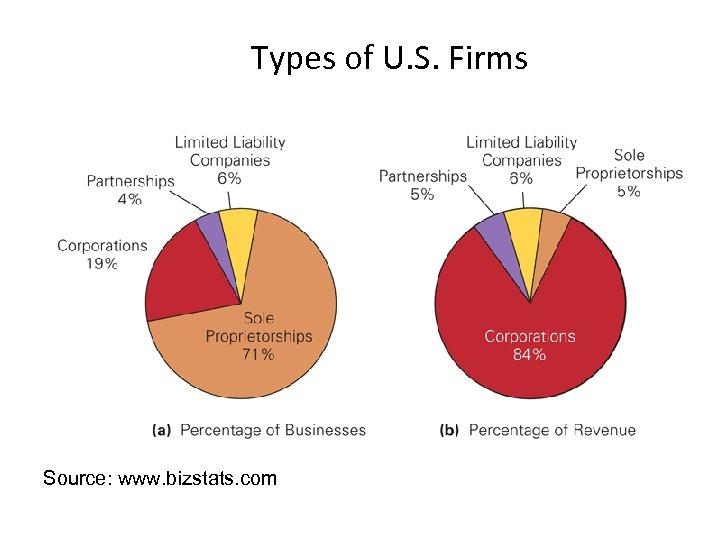 Types of U. S. Firms Source: www. bizstats. com