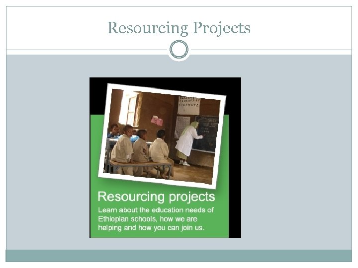 Resourcing Projects