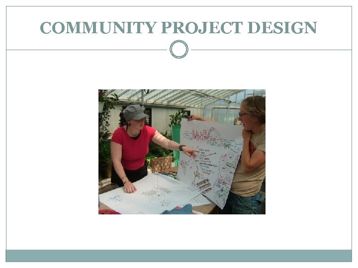 COMMUNITY PROJECT DESIGN