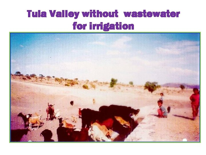 Tula Valley without wastewater for irrigation