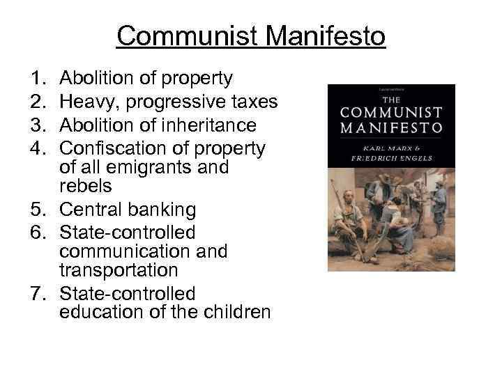 a comprehensive analysis of the communist manifesto by karl marx The communist manifesto analysis karl marx, displeased with marx writes that the whole bourgeoisie screams in chorus against the supposed communist view on.